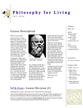 Philosophy for Living syllabus